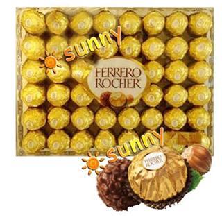 免运费!包美国直邮Ferrero Rocher 費列罗 金莎榛仁巧克力 48粒