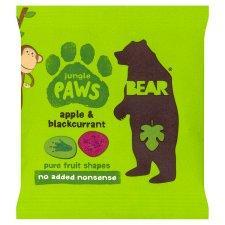 英国Bear Pure Fruit Paws Jungle 20G 英国直邮