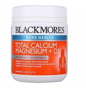BLACKMORES澳佳宝活力钙镁维生素D3 补钙首选