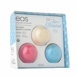 美国现货满600加10元换购 绯闻女孩EOS球型天然有机润唇膏水果味