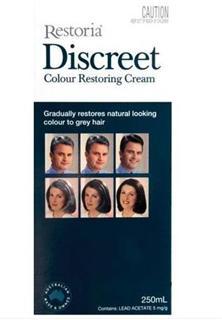 Restoria Discreet丽丝雅 逐渐变黑 黑发乳染发 250ml