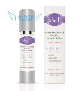 14新版美国代购直邮Belli孕妇纯天然隔离防晒霜BB霜除妊娠斑SPF25