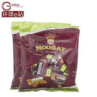 澳洲特产高端进口 Golden Boronia金宝乐牛轧糖 原味杏仁脆糖 2袋