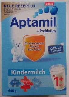 德国直邮代购(8盒包邮)爱他美Aptamil 1+1岁奶粉