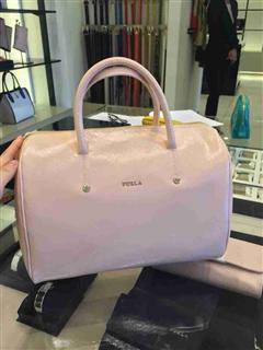 【FURLA芙拉】2014新款ALISSA Bauletto小号枕头包