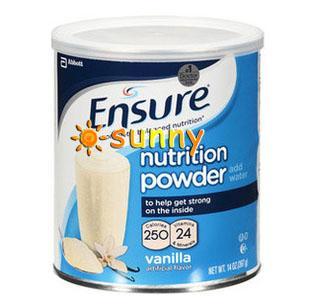 免运费包美国直邮雅培安素Ensure成人蛋白质粉营养粉术后必备397克