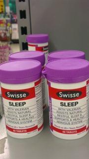 Swisse sleep 植物精华改善睡眠片 60片 澳洲  特价