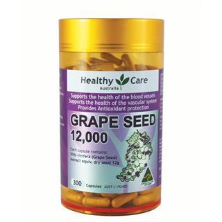 澳洲直邮 Healthy Care葡萄籽精华 300粒 包邮 2瓶更优惠