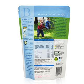 澳洲直邮贝拉米Bellamy's有机米粉125g原味补铁4+婴幼儿米糊