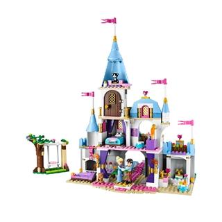 乐高玩具 41055 灰姑娘的浪漫城堡