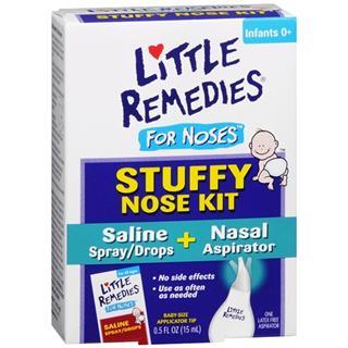 【代购直邮】Little Noses盐水滴鼻剂喷雾二合一 解决感冒鼻塞