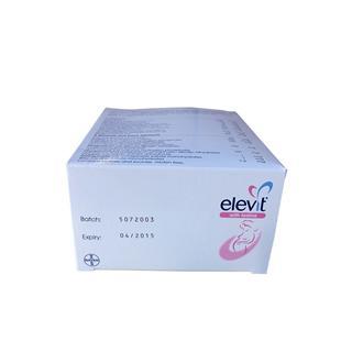 Elevit with Lodine 爱乐维孕妇复合维生素叶酸含碘片 100片