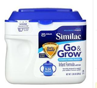 美国直邮 原装雅培Similac Advanced Go&Grow 金盾二段婴儿奶粉