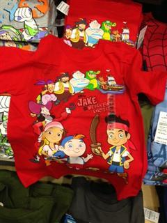 专柜正品 Disney迪斯尼男童100%有机棉短袖T恤