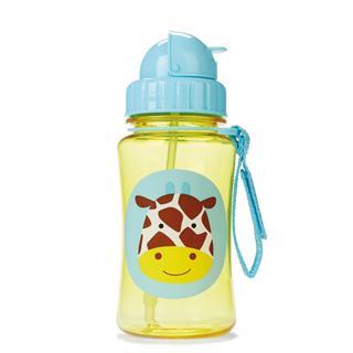 【美国直邮】skip hop儿童动物园宝宝学饮杯吸管杯 学生饮水杯饮水壶