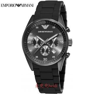 美国直邮 阿玛尼EMPORIO ARMANI 三眼男士手表 AR5889