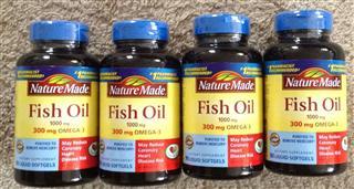 美国原装 Nature Made Omega 3 鱼油Fish Oil 1000毫克90粒