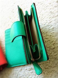 【美国现货】COACH寇驰 F50431 新款真皮女士钱包短款钱夹