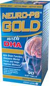 免运费包美国直邮VITAMIN WORLD超级脑黄金改善记忆PS DHA DMAE