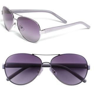 美国直邮KATE SPADE浅紫色带鼻托镜腿LOGO紫色渐变镜片墨镜太阳镜