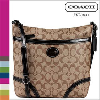 美国直邮:正品寇驰新款涂层帆布单肩包 Coach Handbag F18926