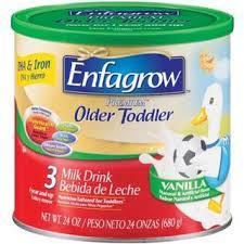 小迪美代美赞臣Enfagrow3段配方奶粉680G/3罐拍