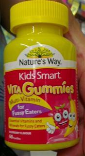 Nature's Way Kids Smart复合维生素儿童软糖60 挑食宝宝最适合