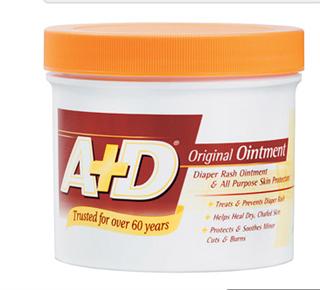 美国正品尿布疹药膏 A+D Diaper Rash & Skin Protectant Origin