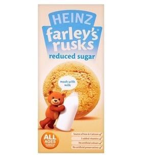 英国亨氏Heinz宝宝磨牙饼干少糖4m+ 150g 英国直邮