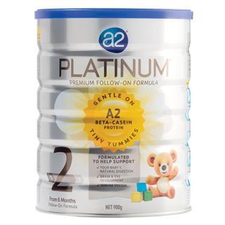 a2白金高端二段婴儿奶粉(beta casein 酪蛋白新技术)900克