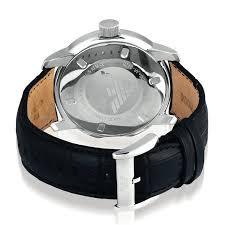 美国代购 Emporio Armani 阿玛尼 男表 AR0428 皮革表带 石英腕表