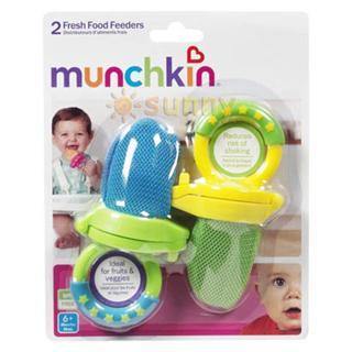 包美国直邮!Munchkin 麦肯齐食物乐咬咬袋咬咬乐不含BPA 2个装