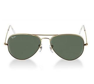 【代购直邮】Ray-Ban雷朋经典太阳镜RB3025Gold/Green