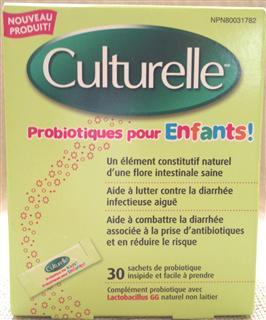 加拿大Culturelle 宝宝婴儿童益生菌调肠胃湿疹30包 顶级配方