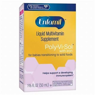 Enfamil美赞臣 婴幼儿复合维生素滴剂(含铁) 50ml