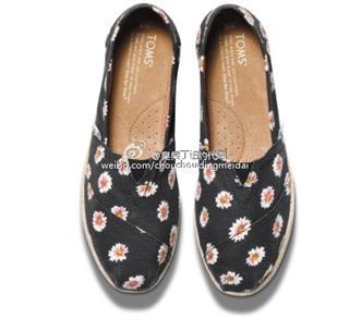 Toms小雏菊布鞋,尺码全,有半码(拍下请备注尺码)