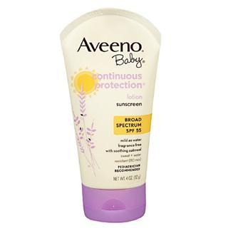【美国直邮】 Aveeno Baby 美国婴儿燕麦长效防晒霜SPF55
