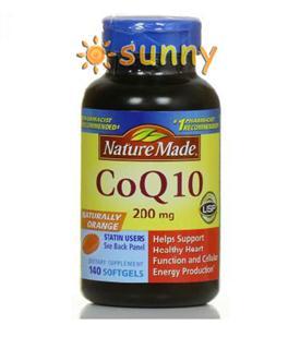 免运费!包美国直邮Nature Made CoQ10辅酶Q10 200mg 140粒防衰老