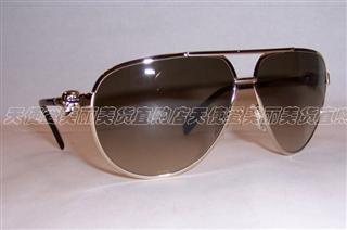 美国代购 ALEXANDER MCQUEEN亚历山大麦昆 4156S 3YG骷髅头太阳镜