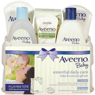 Aveeno Baby 新生儿天然燕麦精华洗护套装6件套 母子同用