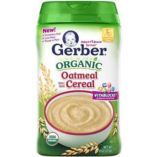 Gerber嘉宝一段有机燕麦米粉227克