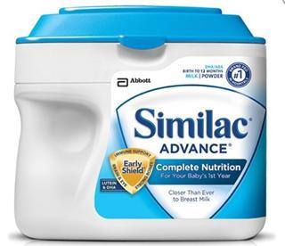 【美国直邮】美国雅培1段金盾雅培一段658g Similac Advance