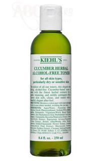 美国直邮:契尔氏小黄瓜植物精华爽肤水 Kiehl's Cucumber Herbal