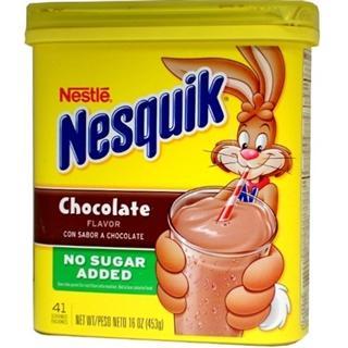 免运费!包美国直邮Nestle 雀巢牌无糖巧克力冲饮 453g