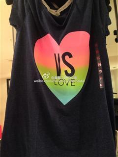 Victoria's secret全棉短袖T恤(拍下请备注颜色)