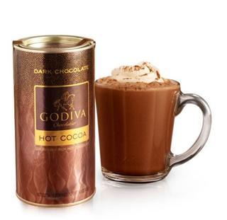Godiva 高迪瓦 可可粉 在家做DQ和麦当劳热巧克力