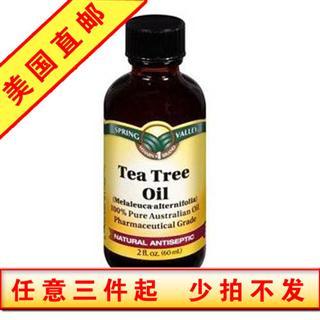 美国直邮 Spring Valley茶树精油 60ml 消肿杀菌祛痘头皮屑