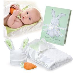 """包邮包税【baby aspen】""""花园里的邦尼小兔""""三件套礼盒装"""