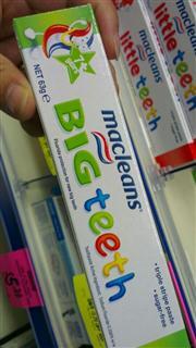 澳洲进口 Macleans big teeth 低氟儿童牙膏 7岁以上