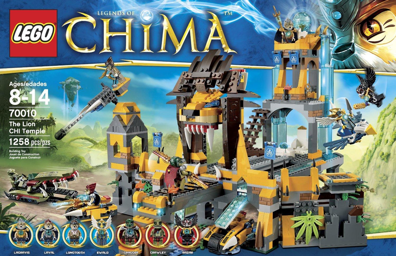 lego乐高拼装积木拼插益智玩具chima气功传奇系列
